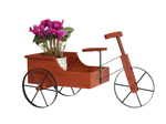 pedicab flower planter