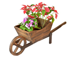 garden planter cart antique